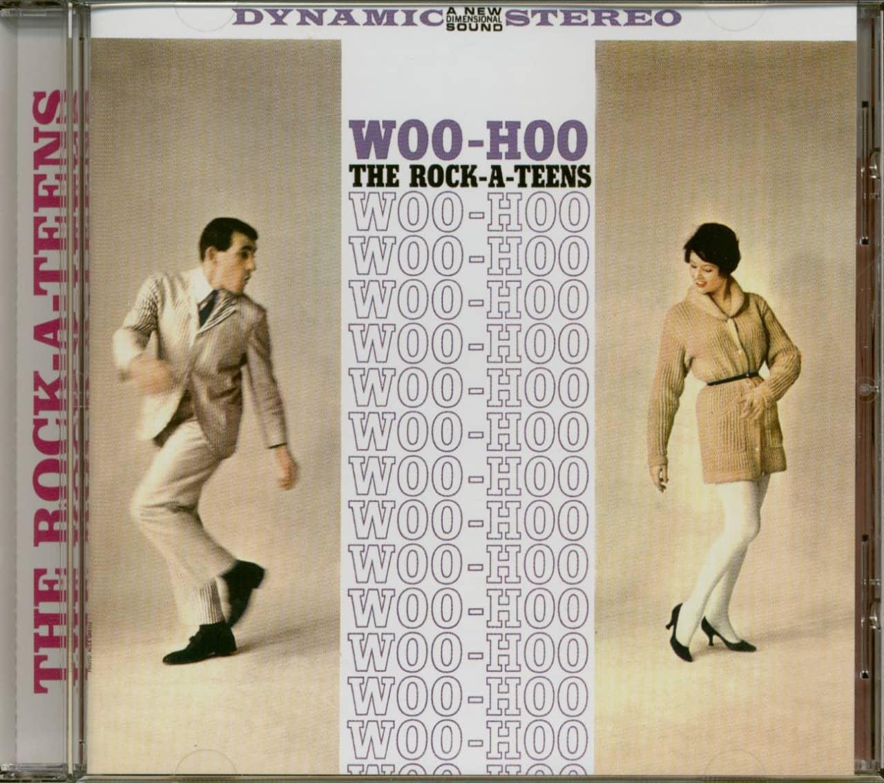 The Rock-A-Teens - Woo-Hoo (CD, Mono & Stereo)