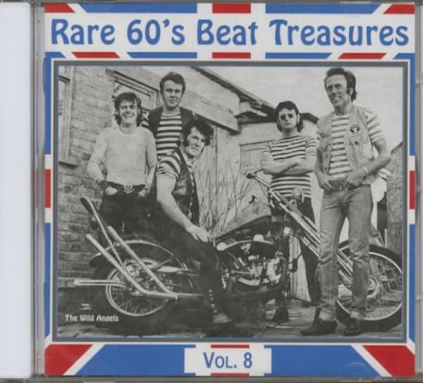 Rare 60's Beat Treasures, Vol.8 (CD)