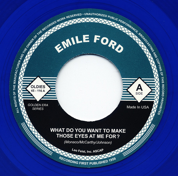 What Do You Want... - Still 7inch, 45rpm (blue wax)