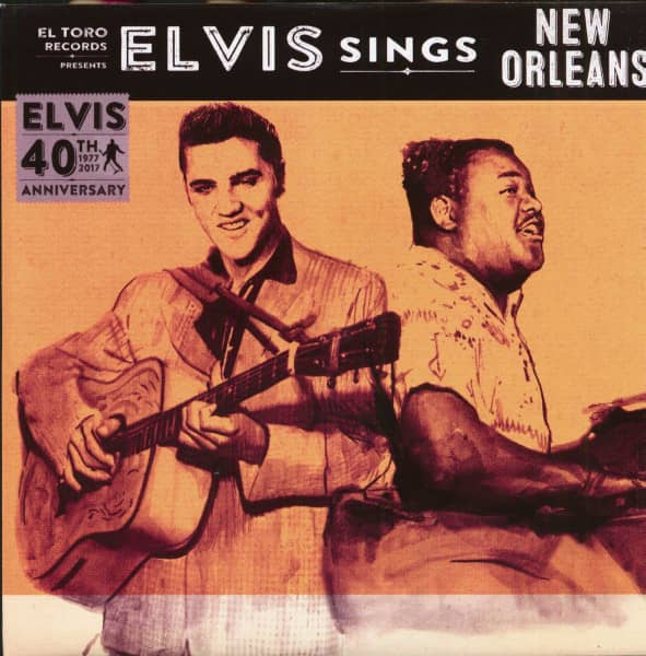 Elvis Sings New Orleans (7inch, EP, 45rpm, PS)