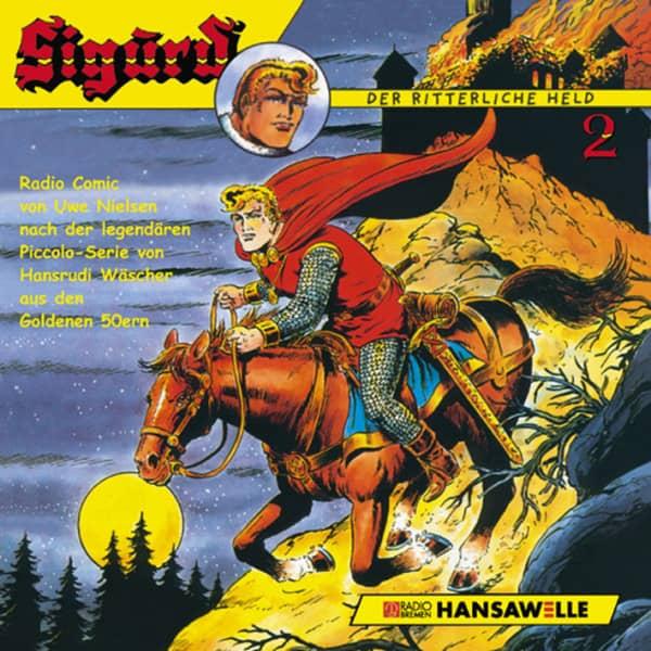 Sigurd, der ritterliche Held - Staffel 2...plus Hörspiel (Radio Bremen)