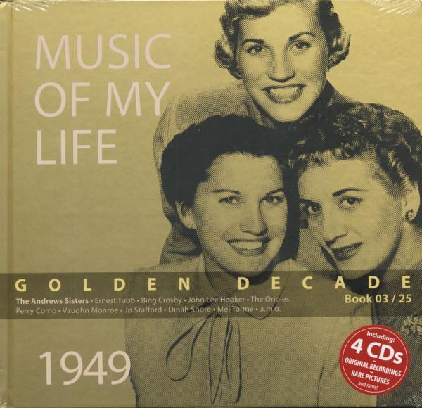 Golden Decade Vol.3 - 1949 (Book & 4-CD)