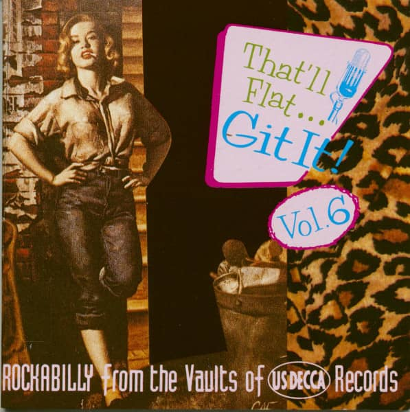 Vol.6 - Rockabilly From The Vaults Of Decca Records (CD)