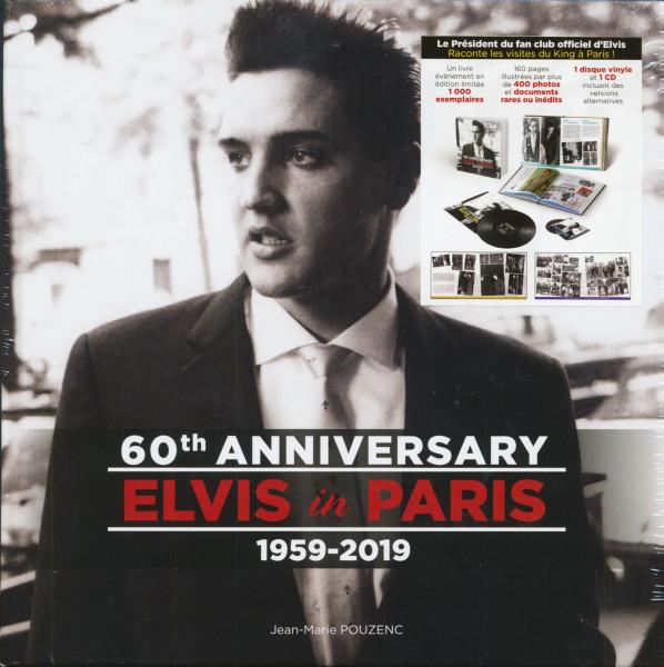 Elvis In Paris - 60th Anniversary (Book, LP, CD, Ltd.)