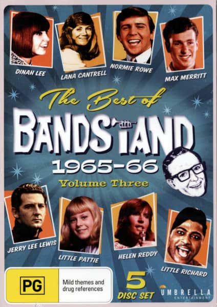 The Best Of Bandstand, Vol.3 1965-66 (5-DVD) (0)