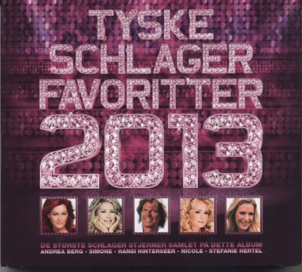 Tyske Schlager Favoritter 2013 (3-CD)