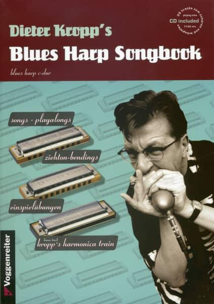 Dieter Kropp's Blues Harp Songbook & CD