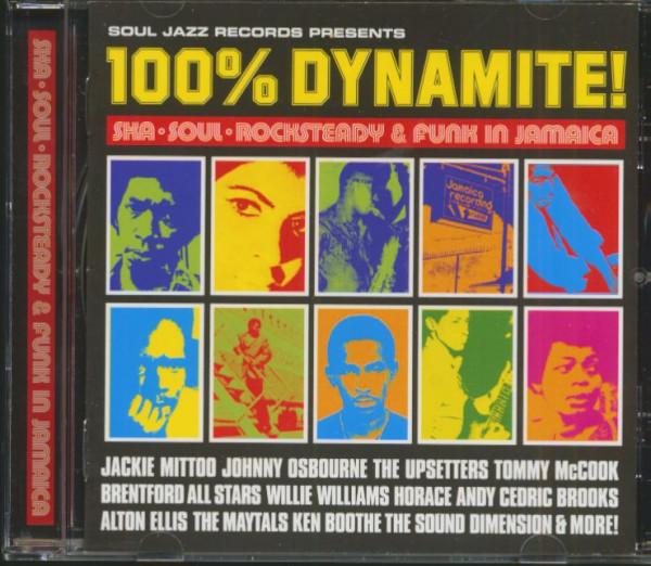 100% Dynamite! Ska-Soul-Rocksteady & Funk In Jamaica (CD)