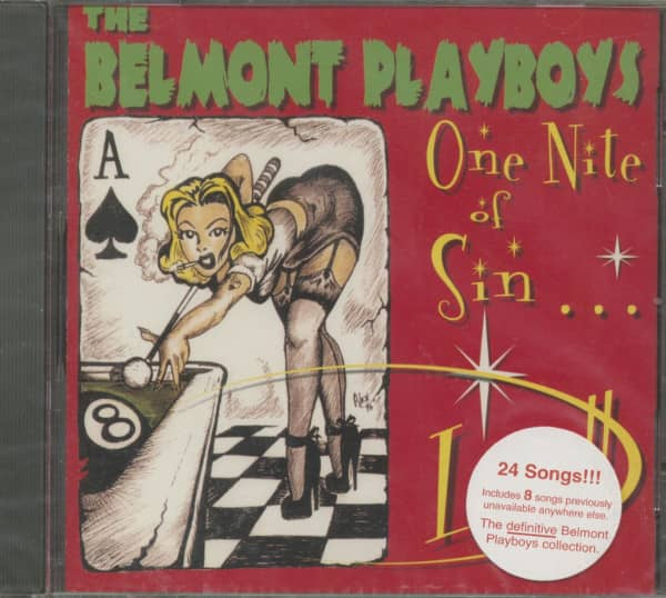 One Night Of Sin - Live (CD)