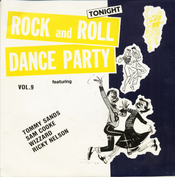 Rock And Roll Dance Party Tonight Vol.9 (7inch, EP, 45rpm, PS)