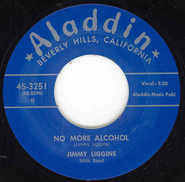 No More Alcohol - Boogie Woogie King 7inch
