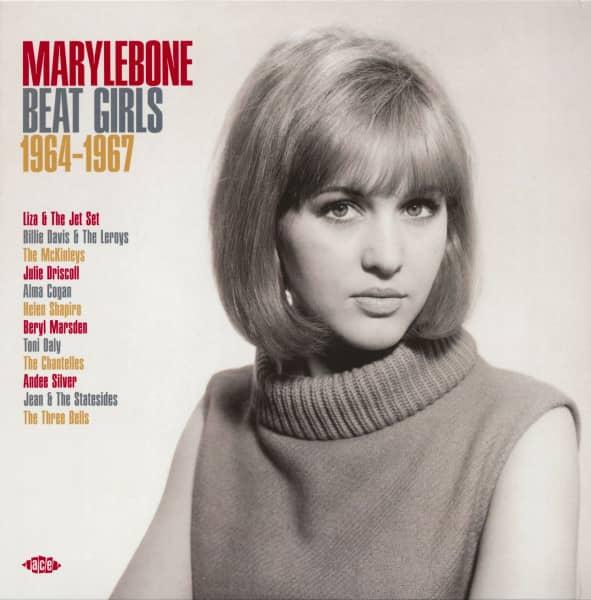 Marylebone Beat Girls 1964-1967 (LP, Orange Vinyl)