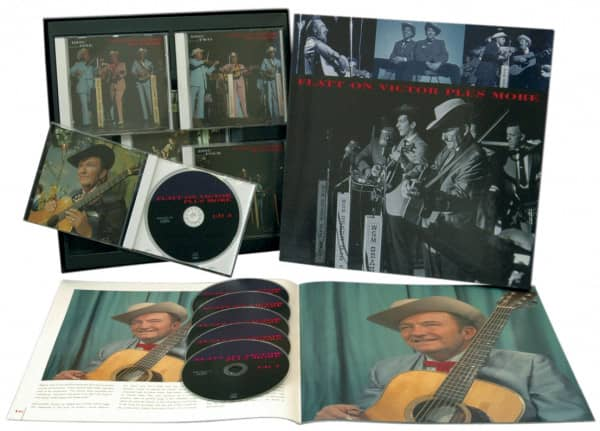 Flatt On Victor Plus More (6-CD Deluxe Box Set)