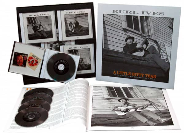 A Little Bitty Tear - The Nashville Years 1961-1965 (5-CD Deluxe Box Set)