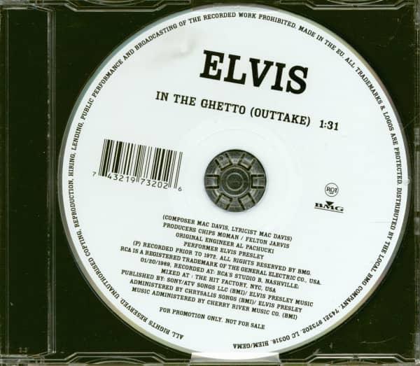 In The Ghetto (Outtake) - CD Single (Promo)