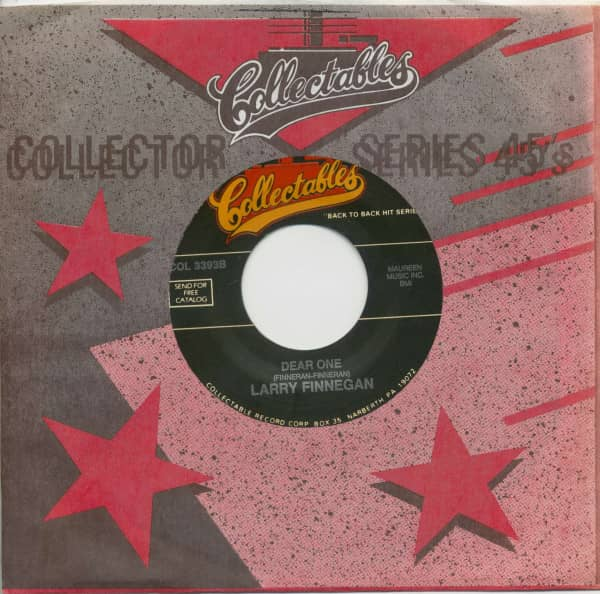Troy Shondell, This Time / Larry Finnegan, Dear One (7inch, 45rpm, BC, CS)