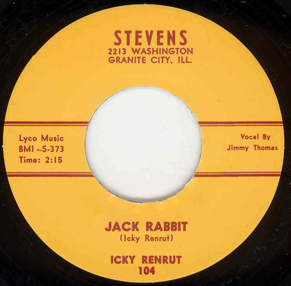 Jack Rabbit b-w In Your Eyes Baby 7inch, 45rpm