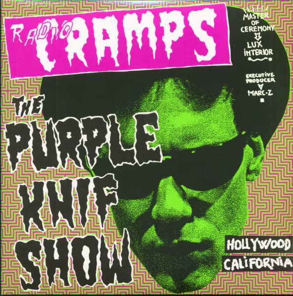 Radio Cramps - The Purple Knif Show (2-LP)