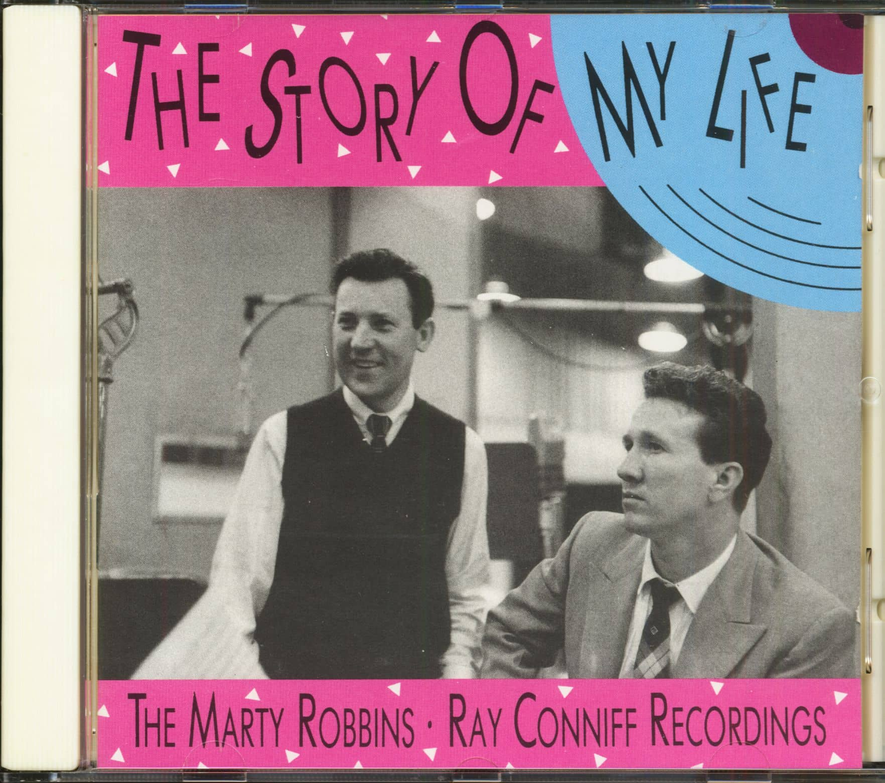 Marty Robbins Cd The Story Of My Life Ray Conniff Bear Family