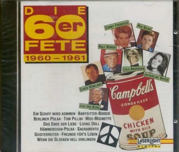 Die 60er Fete 1960-61 (CD)