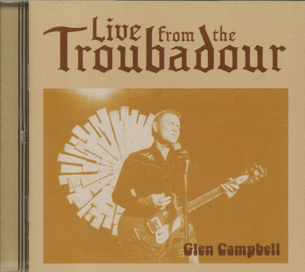 Live From The Troubadour (CD)