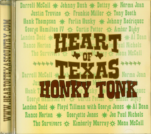 Heart Of Texas Honky Tonk (Label Compilation)