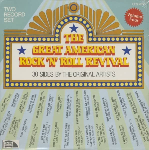The Great American Rock And Roll Revival, Vol.4 (2-LP)