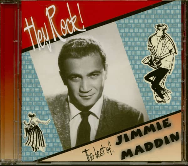 Hey Rock! - The Best Of Jimmie Maddin (CD)