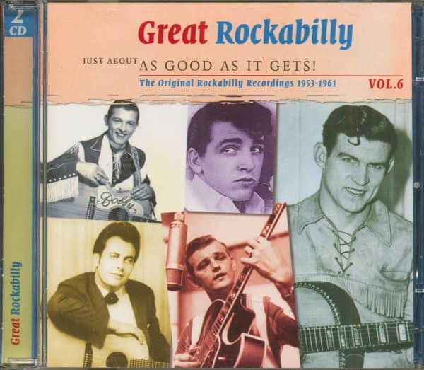 Great Rockabilly - As Good As It Gets Vol.6 (2-CD)