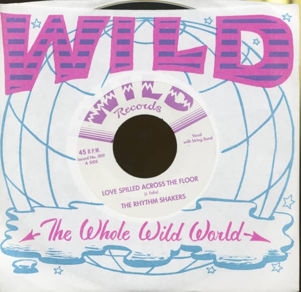 Love Spilled Across The Floor - Hit The Road (7inch, 45rpm)
