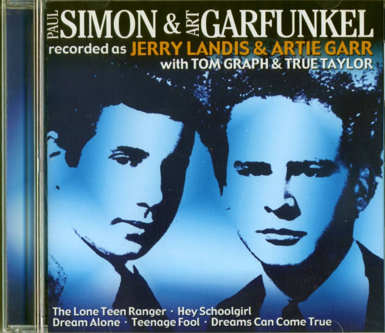 Simon & Garfunkel - Recorded as Jerry Landis & Artie Garr - 1950s Recordings