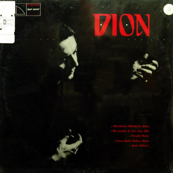 Dion - Abraham, Martin & John (1968) Vinyl LP