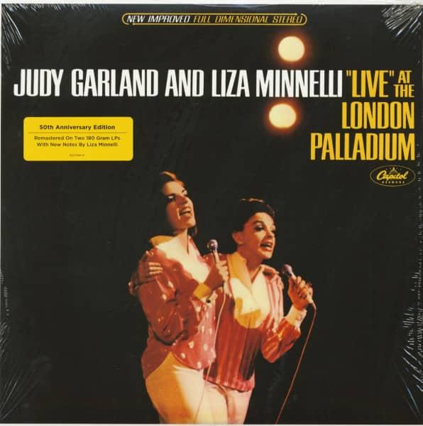 Judy Garland & Liza Minelli - Live At The London Paladium (2-LP, 180g Vinyl)