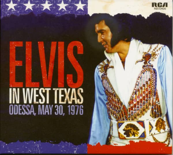 Elvis In West Texas - Odessa, May 30, 1976 (CD)