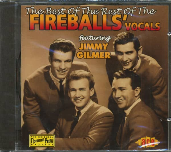 The Best Of The Rest Of The Fireballs' Vocals (CD)