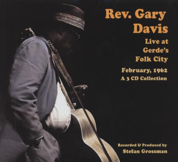 Live At Gerdes Folk City 1962 (3-CD)