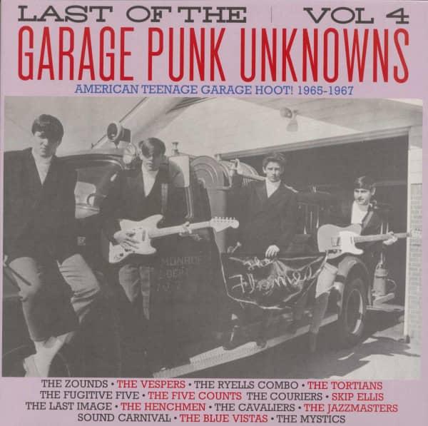 Last Of The Garage Punk Unknowns, Vol.4 (LP)