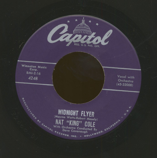 Midnight Flyer - The Sweet Bird Of Youth (7inch, 45rpm)