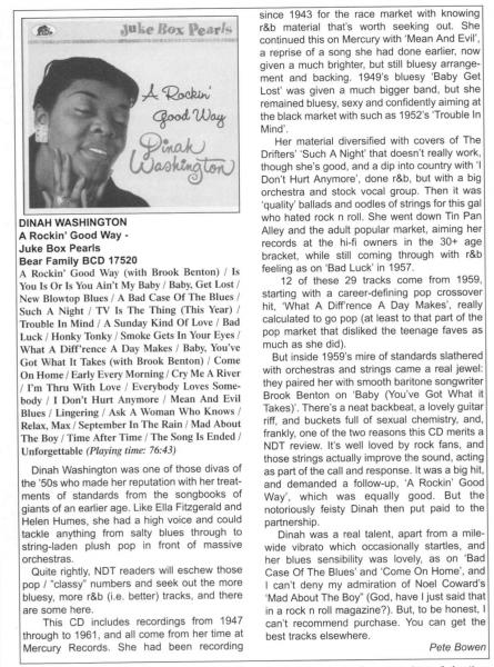 Press-Archive-Dinah-Washington-A-Rockin-Good-Way-Juke-Box-Pearls-Now-Dig-This