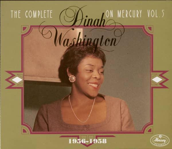 The Complete Dinah Washington On Mercury - Vol.5 1956-1958 (3-CD)