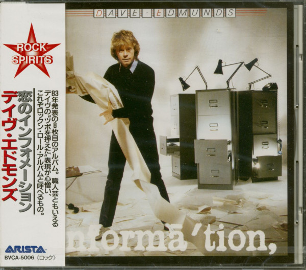 Information (CD, Japan)