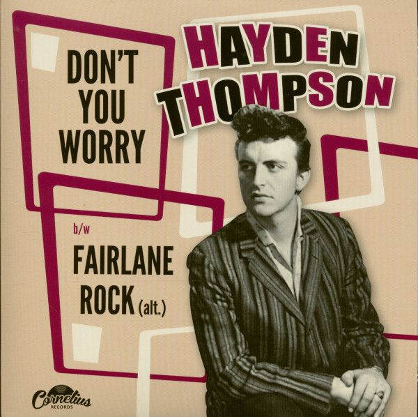 Don't You Worry - Fairlane Rock (7inch, 45rpm, PS)