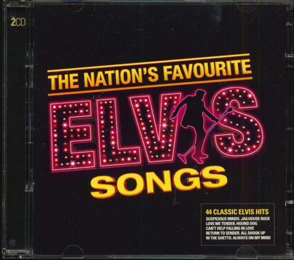 The Nation's Favourite Elvis Songs (2-CD)