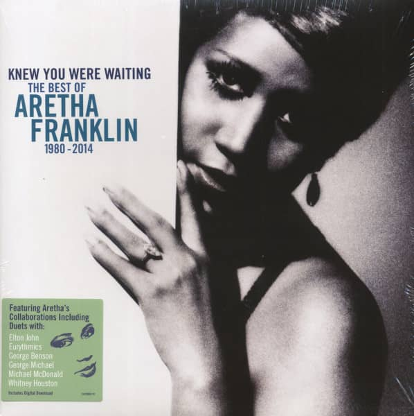 Knew You Where Waiting - The Best Of Aretha Franklin 1980-2014 (2-LP &ampamp; Download)