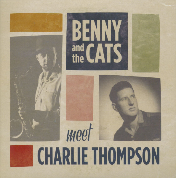 Benny & The Cats Meet Charlie Thompson (7inch, 45rpm, PS)