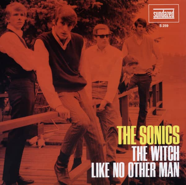 The Witch b-w Like No Other Man 7inch, 45rpm, PS, ltd. - red wax