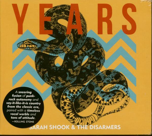 Sara Shook & The Disarmers - Years (CD)