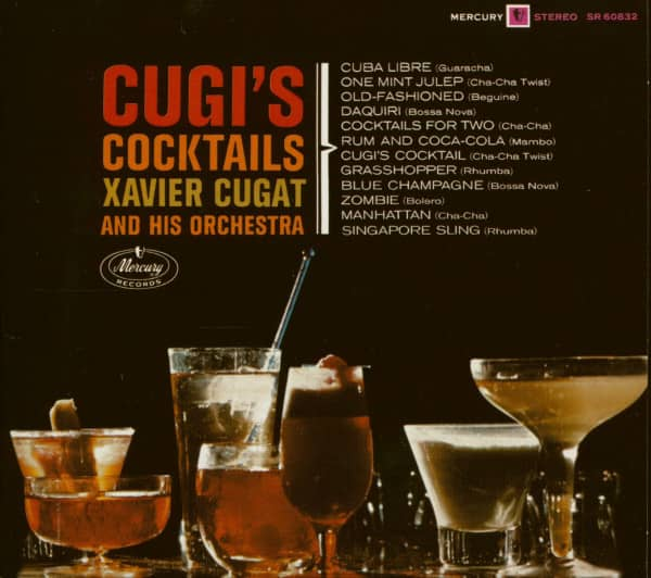 Cugi's Cocktails - Xavier Cugat And His Orchestra (CD)