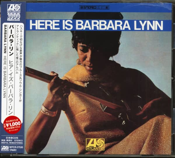 Here Is Barbara Lynn (CD, Japan)