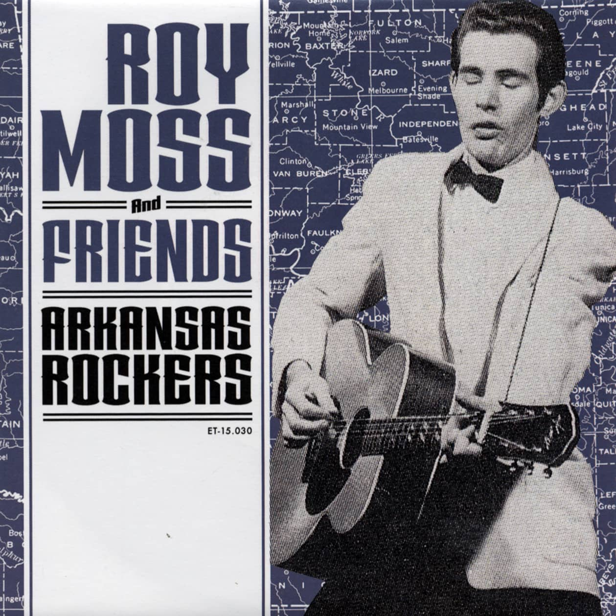 Roy Moss & Friends - Arkansas Rockers 7inch, 45rpm, EP, PS